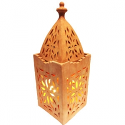 Lanterns made of terracotta