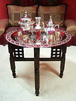 Oriental Tea Tray Tables