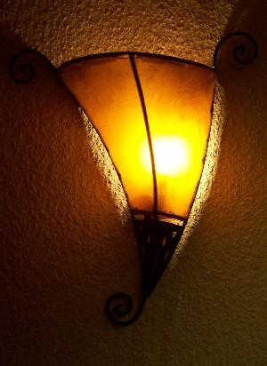 mediterrane wandlampe kurma orange orientalische. Black Bedroom Furniture Sets. Home Design Ideas