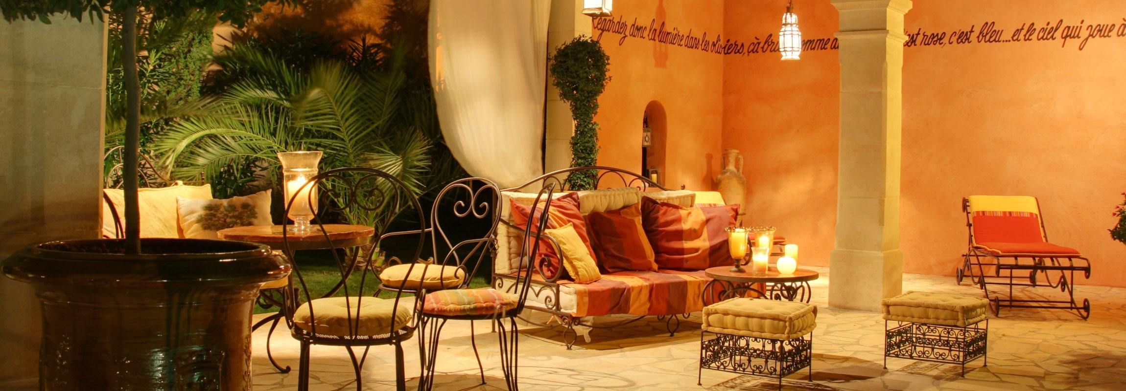 Orientalische Marokkanische Lampen Dekoration Und Möbel Bei Marrakesch
