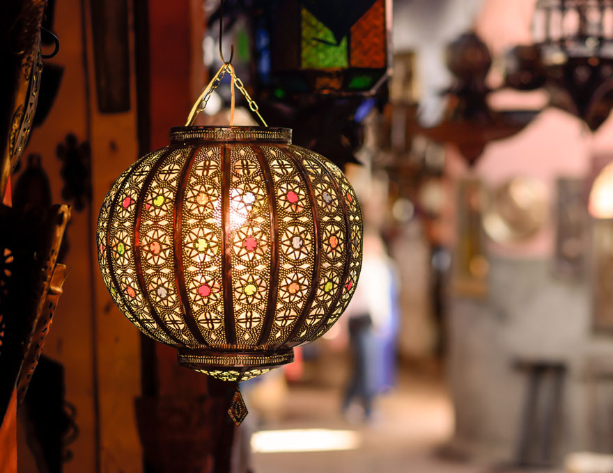 Orientalische Marokkanische Lampen Dekoration und Möbel bei ...